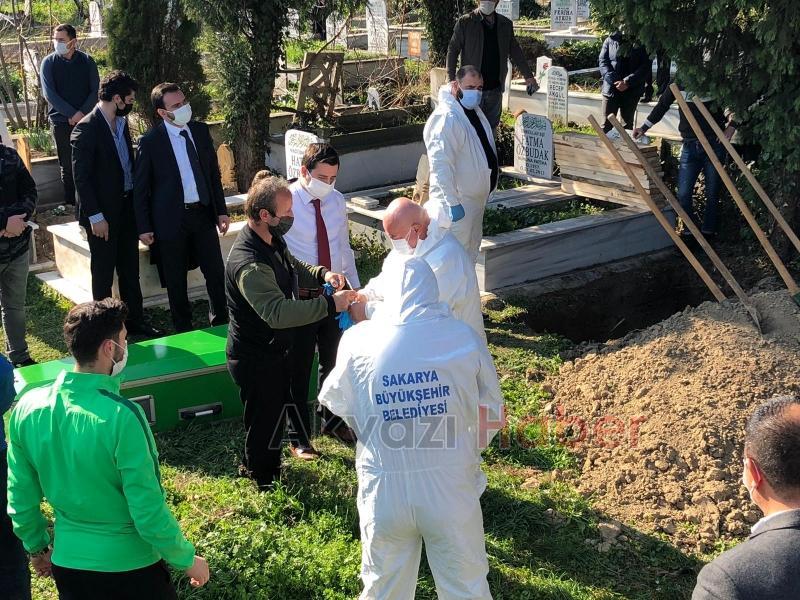 Koronadan hayatını kaybeden Özbudak'a son görev