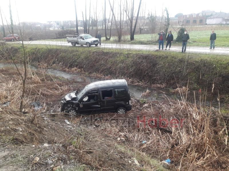 Trafik Kazası 6 yaralı