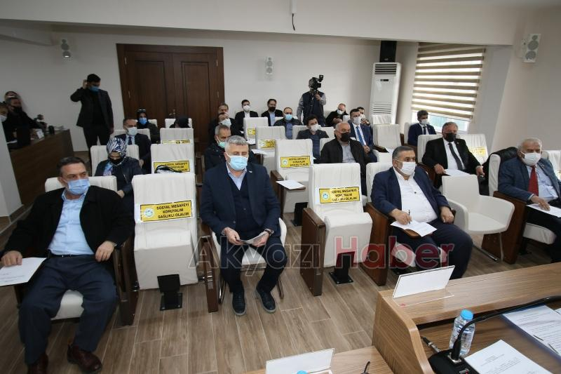 Akyazı Belediyesi Meclisi toplandı