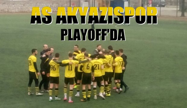 As Akyazıspor Playoff da
